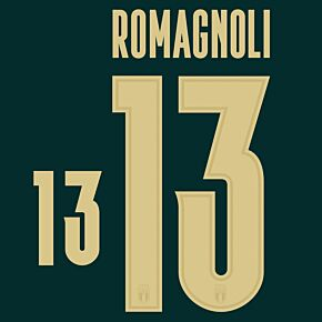 Romagnoli 13 (Official Printing) - 19-20 Italy 3rd Renaissance