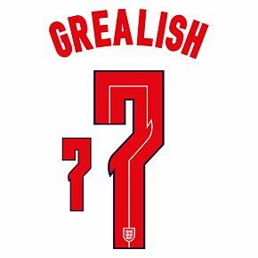 Grealish 7 (Official Printing) - 20-21 England Home