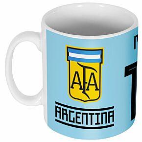 Argentina Messi 10 Team Mug