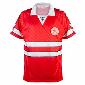 Hummel Denmark 1988-1990 Home Shirt - USED Condition (Great) - Size XL *READY TO PUBLISH*
