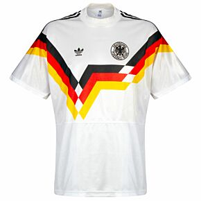 adidas West Germany 1990-1992 Home Shirt USED Condition (Great) - Size L