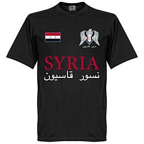 Syria National Tee - Black