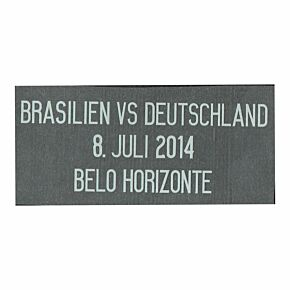 Brasilien vs Deutschland 8. Juli 2014 Belo Horizonte Germany Away 2014 World Cup Semi Final Transfer