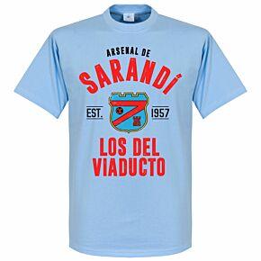 Arsenal Sarandi Established Tee - Sky
