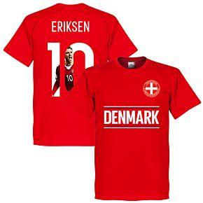 Denmark Eriksen 10 Gallery Team Tee - Red