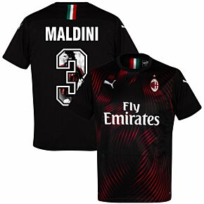 Puma AC Milan 3rd Maldini 3 Jersey 2019-2020 (Gallery Style Printing)