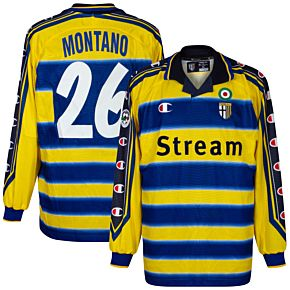 99-00 Parma Home L/S Jersey +Montano 26