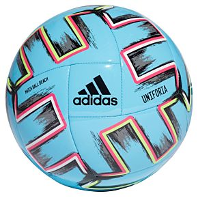Adidas EURO 2020 Uniforia BCHBall - BRCyan/Black - (Size 5)