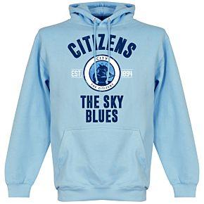 Man City Establlished Hoodie - Sky