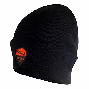 20-21 AS Roma UCL Dry Beanie - Black