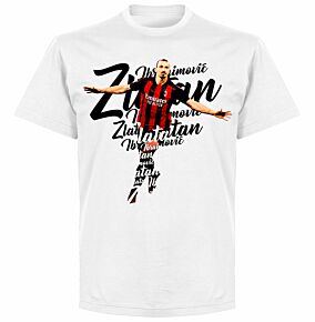 Ibrahimovic Script T-shirt - White