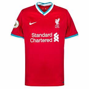 20-21 Liverpool Home Shirt + Premier League Champions Patch