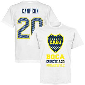 Boca Campeon 20 T-shirt - White