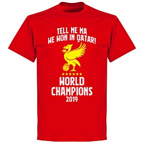 Liverpool World Champions Qatar 2019 T-shirt - Red