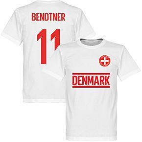 Denmark Bendter 11 Team Tee - White