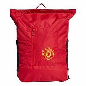 21-22 Man Utd Backpack - Red/Black