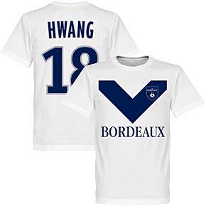 Bordeaux Hwang 18 Team Tee - White