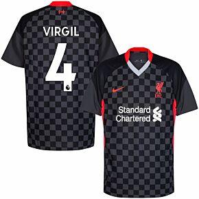20-21 Liverpool 3rd Shirt + Virgil 4