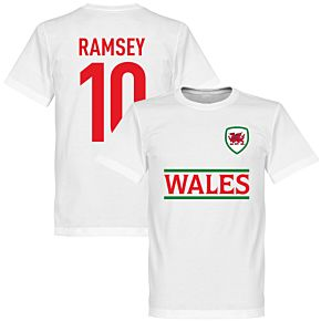 Wales Ramsey 10 Team Tee - White