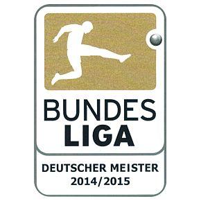 Bundesliga Champions Patch 2015 / 2016 (14/15 winners)