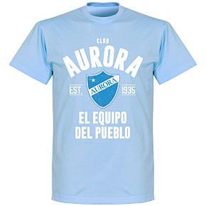 Club Aurora Established T-Shirt - Sky
