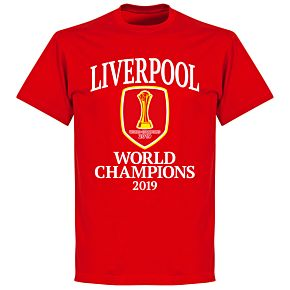 Liverpool World Club Champions 2019 T-shirt - Red