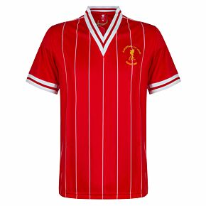 1984 Liverpool European Cup Final Retro Shirt