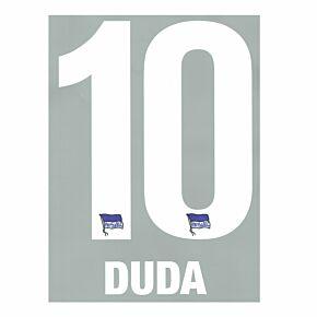 Duda 10 (Official Printing) - 19-20 Hertha Berlin Home