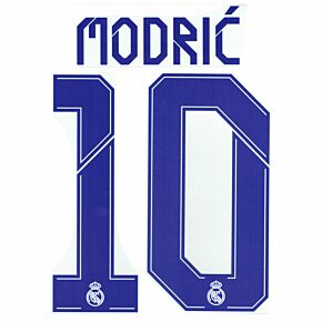 Modrić 10 (Official Printing) - 21-22 Real Madrid Home