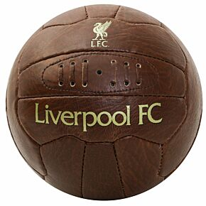 Liverpool Faux Leather Football (Size 5)
