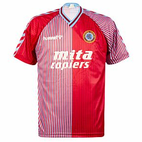 Hummel Aston Villa 1988-1990 Home Shirt - USED Condition (Great) - Size M