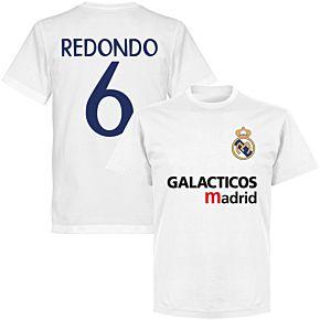Galácticos Madrid Redondo 6 Team T-shirt - White