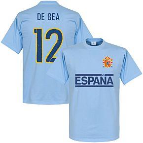 Spain De Gea Team Tee - Sky