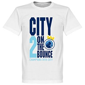 City 2 on the Bounce Champions T-Shirt - White
