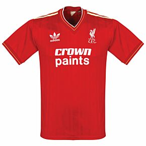 adidas Liverpool FC 1985-1987 Home Shirt - USED Condition (Great) - Size M