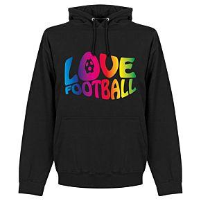 Love Football Hoodie - Black
