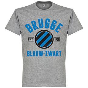 Brugge Established Tee - Grey