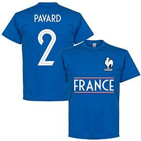 France Team Pavard 2 Tee - Royal