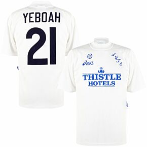 Asics Leeds United 1995-1996 Home Yeboah 21 Shirt - USED Condition (Great) - Size L *READY TO PUBLISH*
