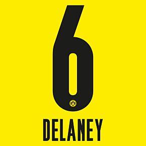 Delaney 6 - 20-21 Borussia Dortmund Home (Official Printing)