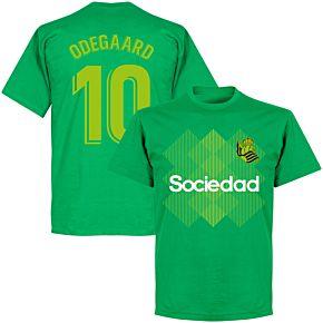 Sociedad Odegaard 10 Team T-shirt - Green