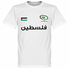 Palestine Tee - White