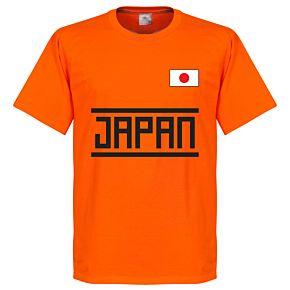 Japan Team Tee - Orange