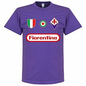Fiorentina Team Tee - Purple
