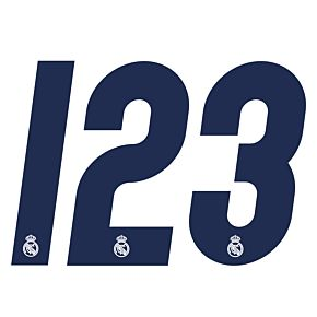 Official Numbers - Real Madrid Home 2016 / 2017