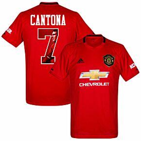 adidas Man Utd Home Cantona 7 Jersey 2019-2020 (Gallery Style Printing)
