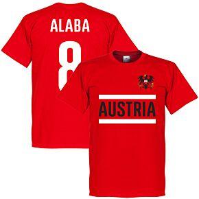 Austria Alaba Tee - Red
