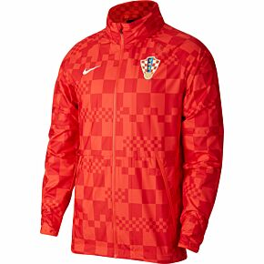 20-21 Croatia AWF Lightweight Jacket - Red