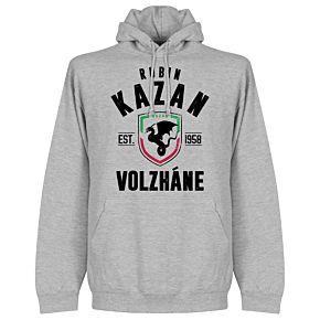 Rubin Kazan Established Hoodie - Grey