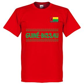 Guinea Bissau Team Tee - Red